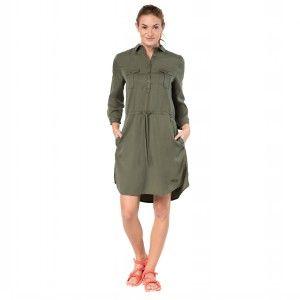 Jack Wolfskin Women/'s Mojave Dress Woodland Green