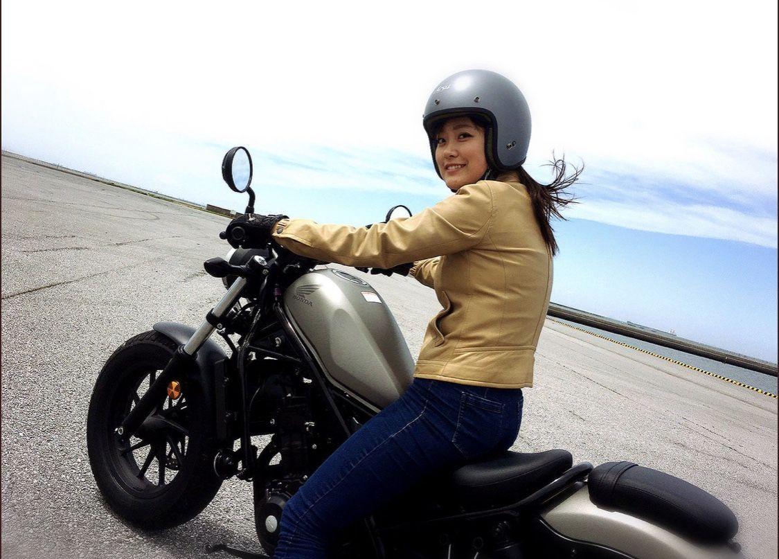 かっこいいバイク女子 国友愛佳さん♥♥♥HONDA CBR600RR♥♥♥【