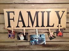 Family Sign Country Primitive Farmhouse Decor