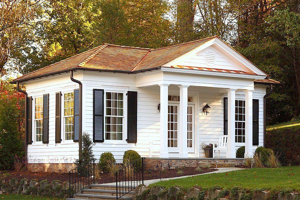 Russell Versaci S Piedmont Cottage Small Cottage House Plans Small Cottage Homes Cottage House Plans