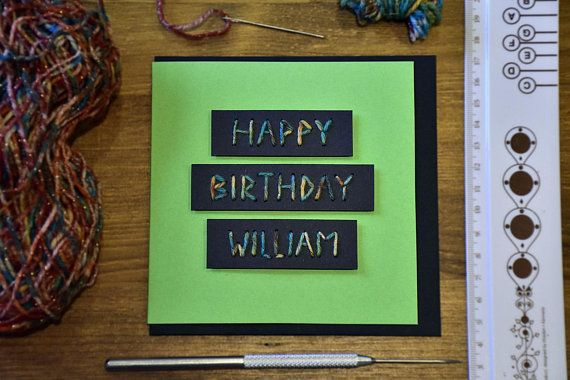 A Personalised Birthday Greeting Card Wish Your Special Someone Very Happy With This