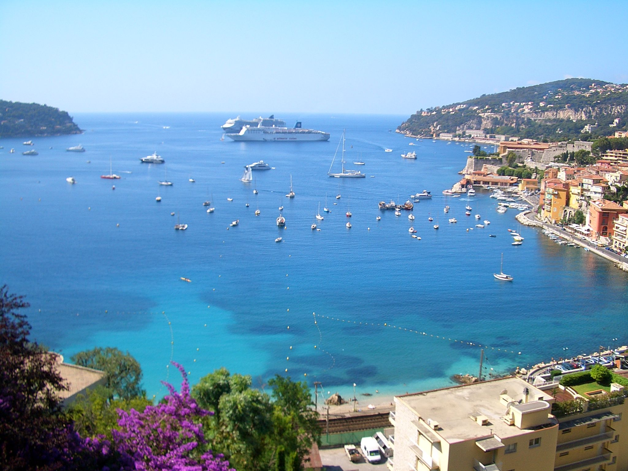 The beautiful city of Villefranche-sur-Mer is a treasure of the French Riviera