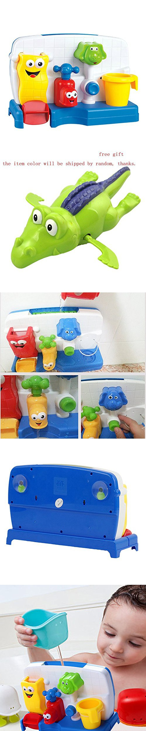 Kids toys images  Baby Bath Toy Kids uSpray faucet Play Plastic Multicolor Wash Toys