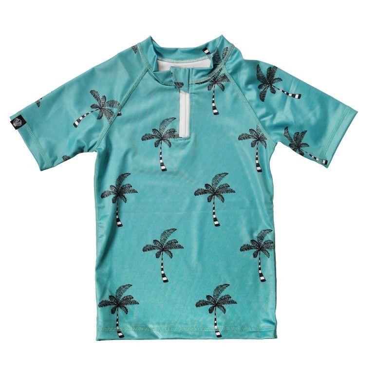 Beach and Bandits   UV Shirt Coconut Tree   Little Wannahaves