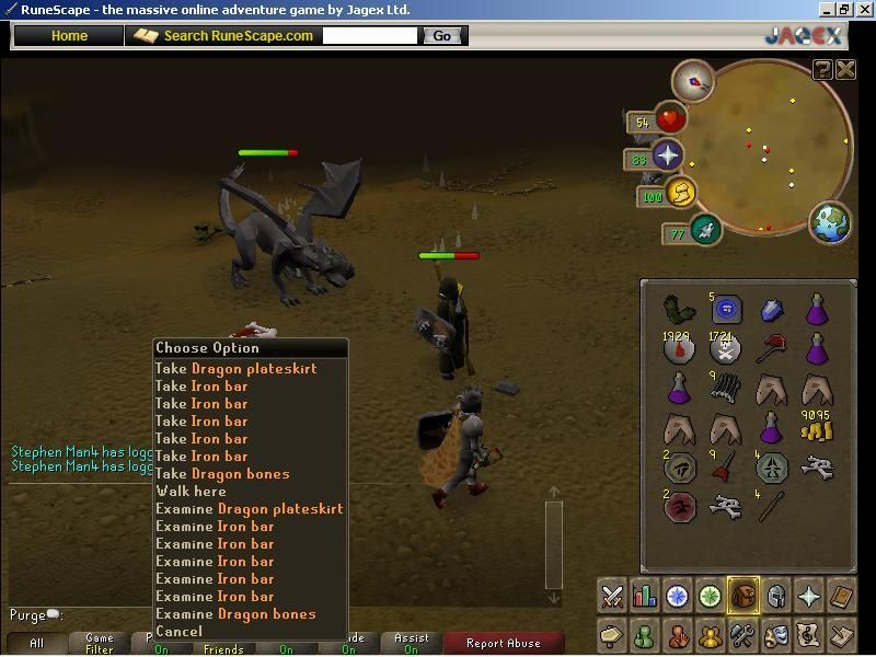 Luke On Old Runescape Dragon Armor First Ever Dragon