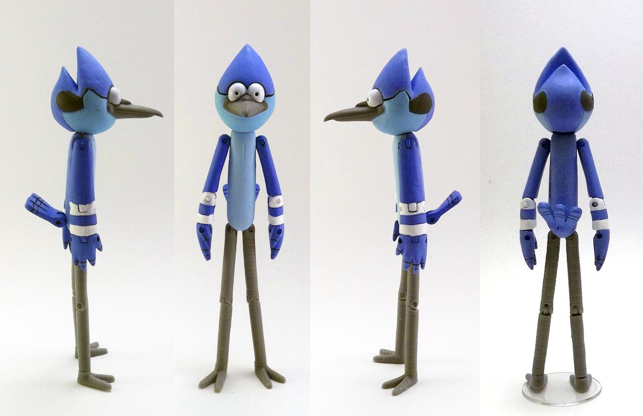 Regular Show Mordecai And Rigby Fighting