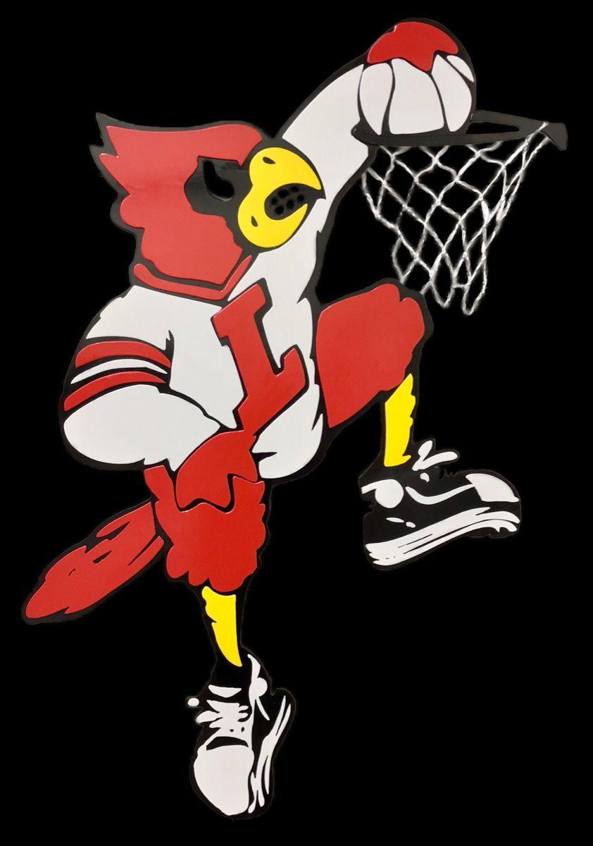 Uofl Dunking Bird By Artist Tony Viscardi Artist Favorite Team Louisville Basketball