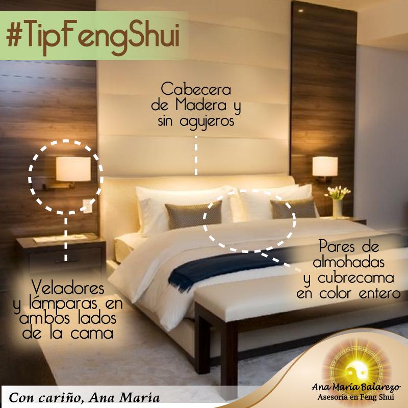 El dormitorio en el feng shui es un lugar de descanso y for Feng shui para el dormitorio