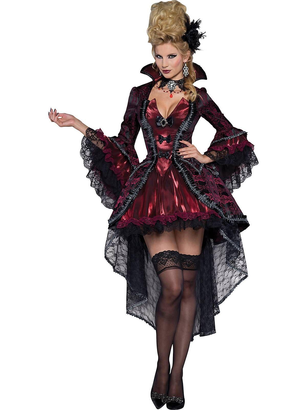 9e4a86e9fb89f Sexy Victorian Vamp Womens Costume | halloween | Vampire costumes ...