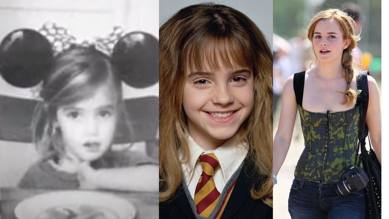 Emma Watson Transformation 2020 From 1 To 30 Years Old In 2020 Emma Watson 30 Years Old Harry Potter Girl