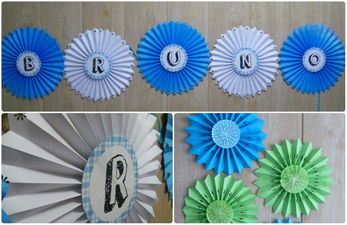 Decoracion con rosetas de papel buscar con google for Papel de decoracion