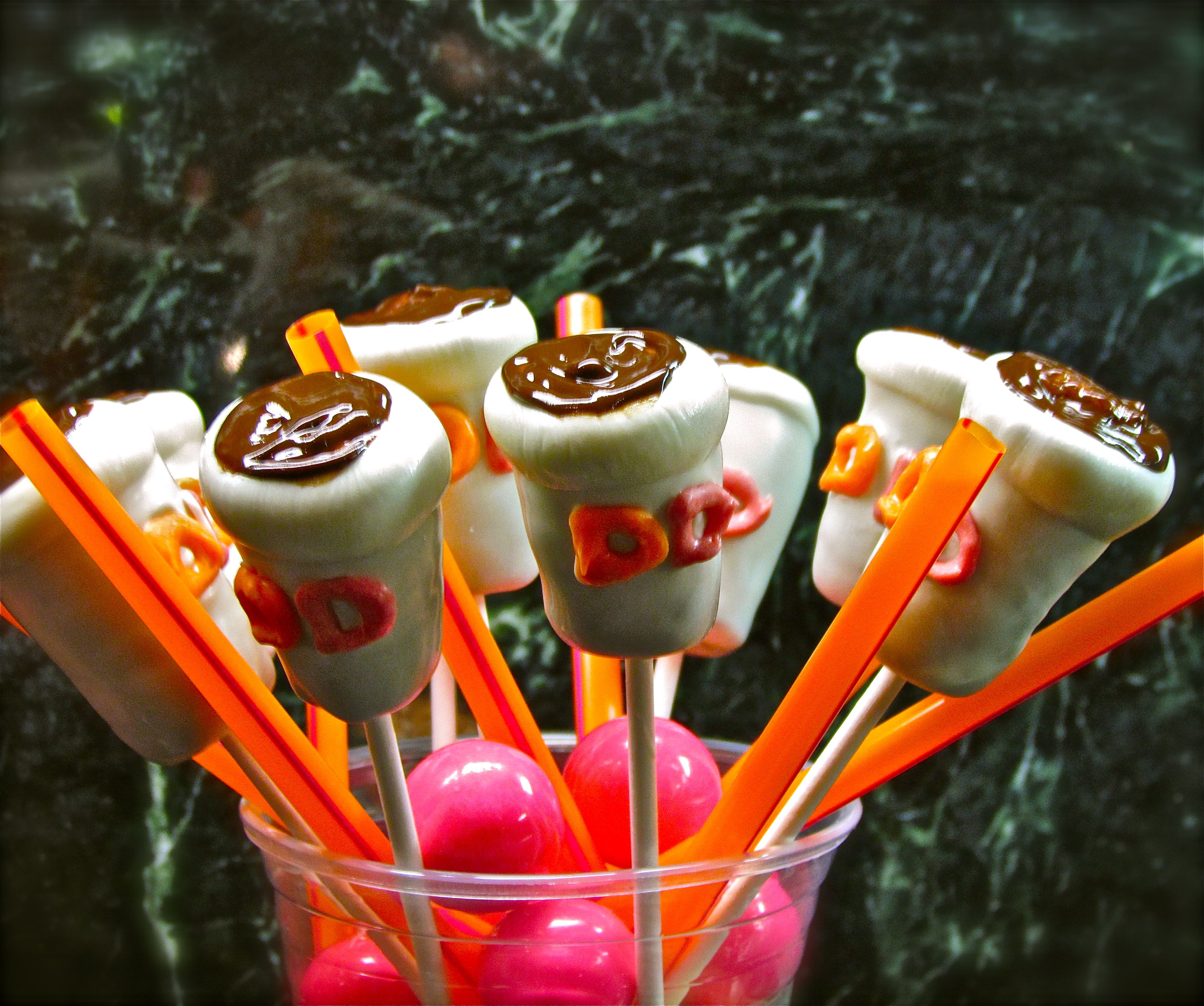 Dunkin Donuts Cake Pops!