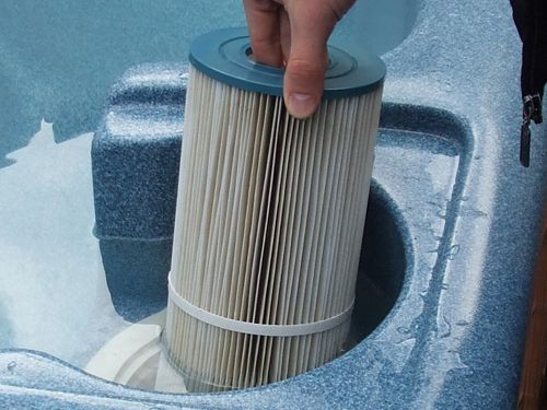 How To Remove A Stuck Hot Tub Filter Hot Tub Hot How To Remove