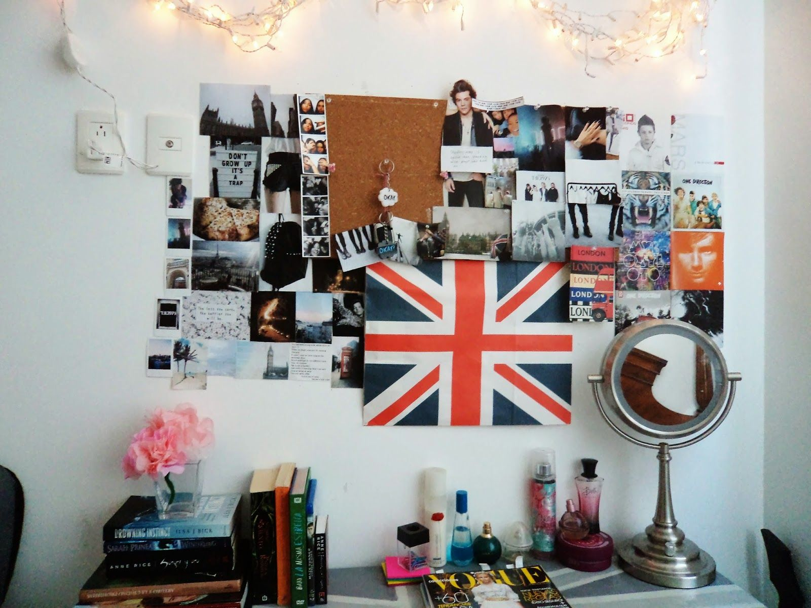 Diy decora tu cuarto estilo tumblr f cil y sin gastar for Zimmerdekoration diy