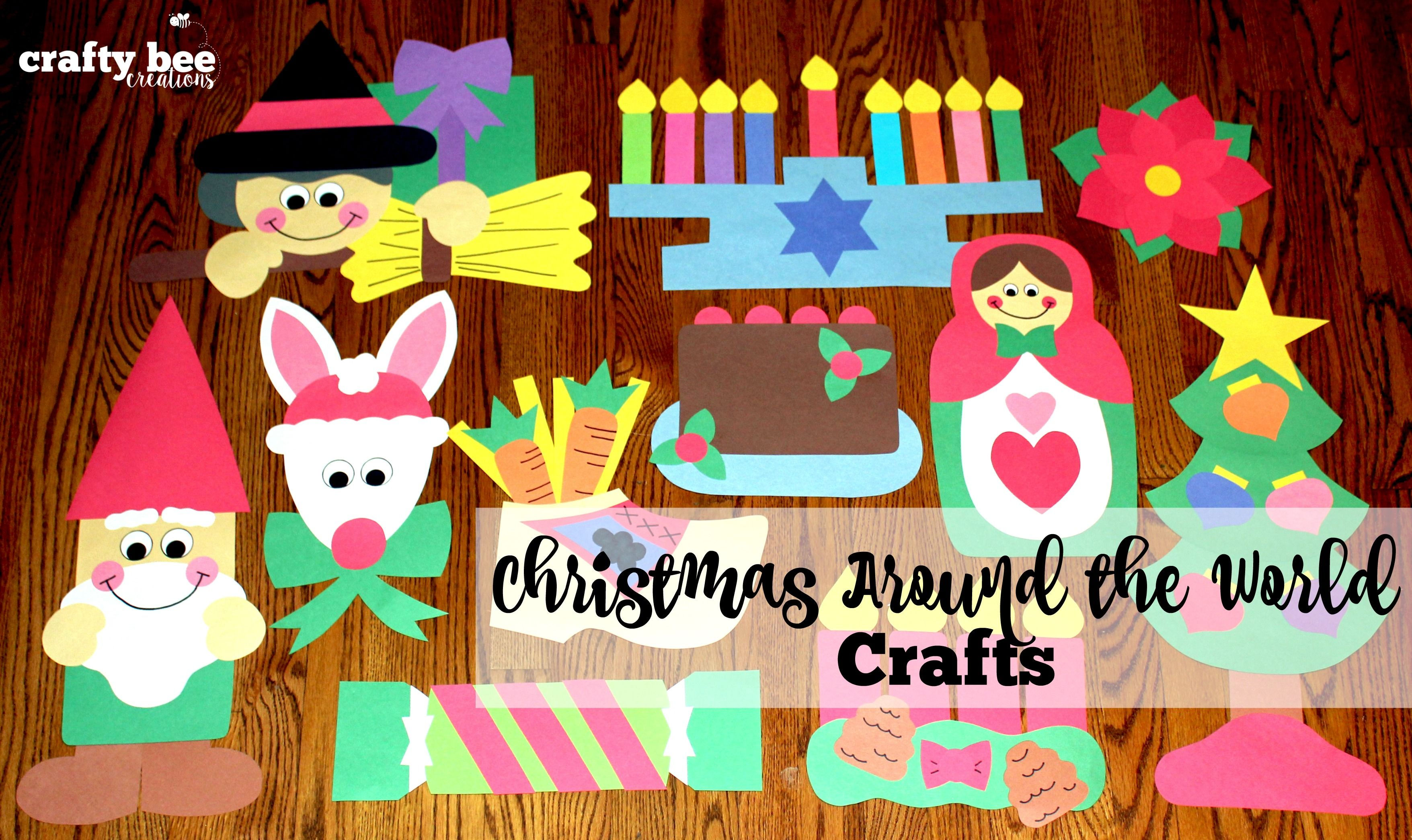 Christmas Around The World Crafts Bundle