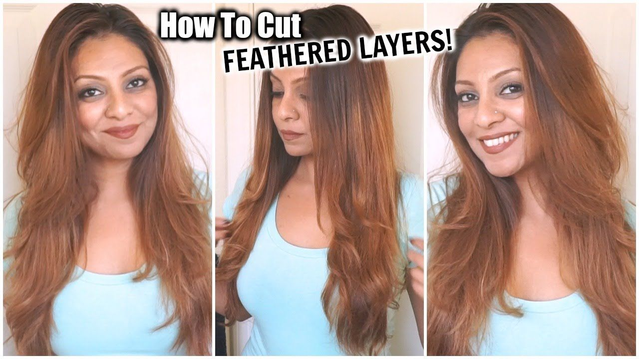 How i cut my hair at home in feathered layers diy feather face how i cut my hair at home in feathered layers diy feather face framing solutioingenieria Image collections