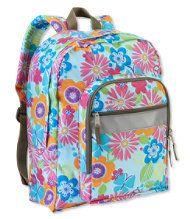 L L Bean Original Book Pack Print Kids Backpacks Backpacks For