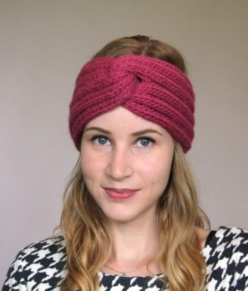 Free Knitted Headband Patterns Omg Heart Free Knitting Patterns