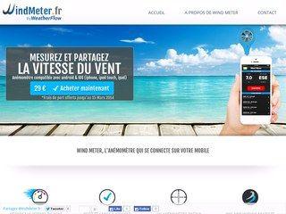 Le nouveau site internet de http://www.windmeter.fr/