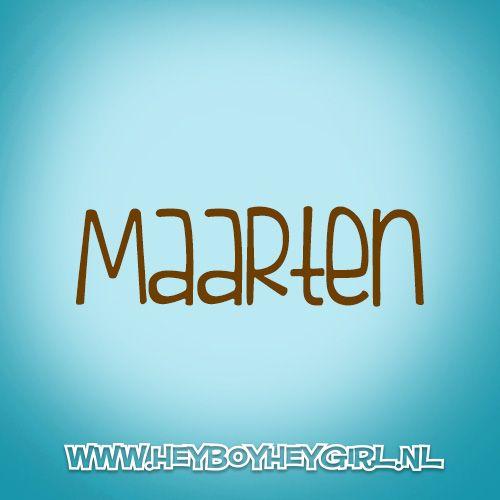 Maarten (Voor meer inspiratie, en unieke geboortekaartjes kijk op www.heyboyheygirl.nl)