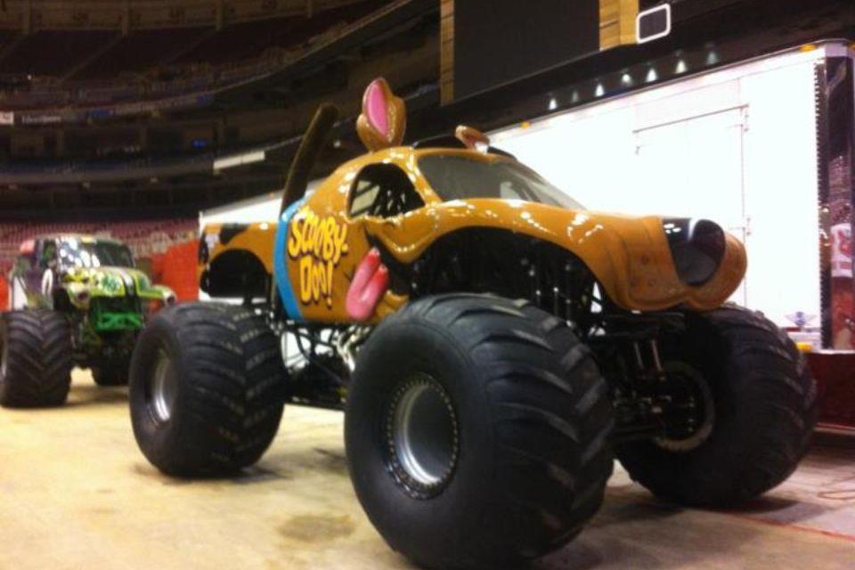 Scooby Doo Monster Truck Trucks Trucks Trucks Monster