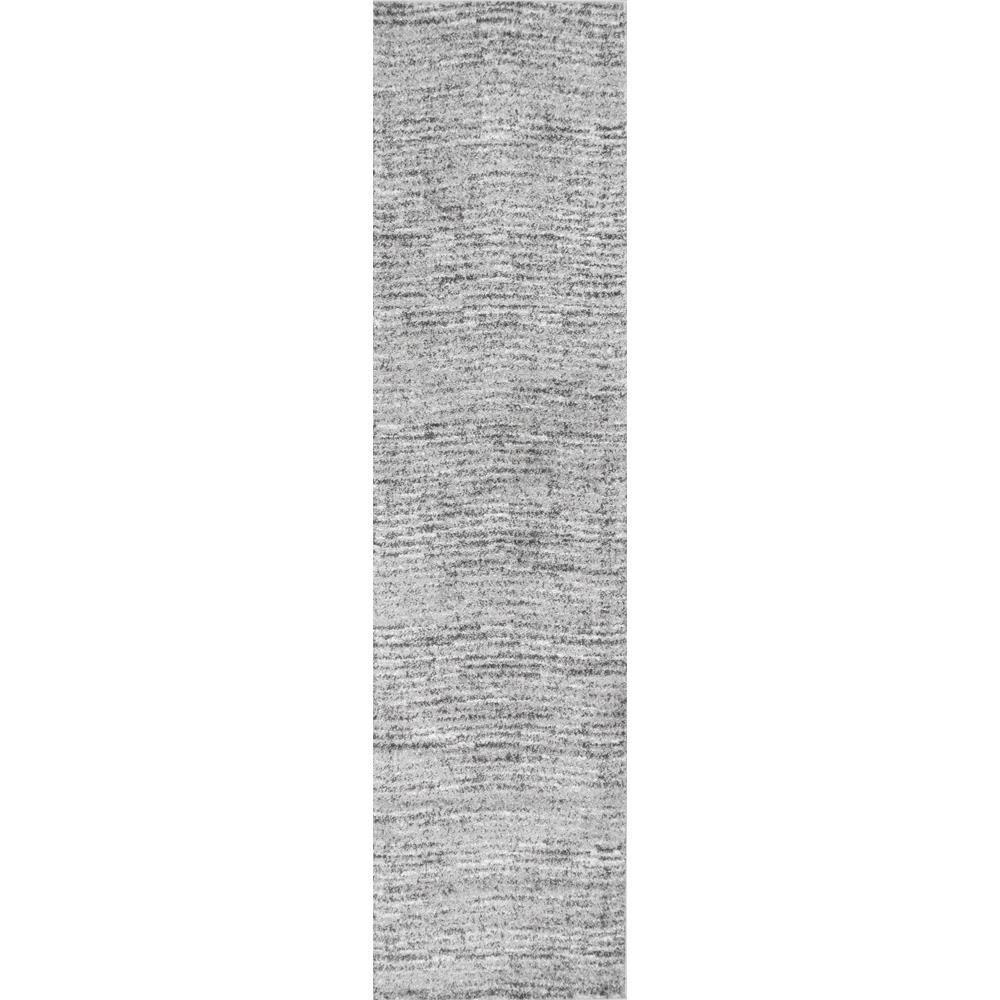 Nuloom Sherill Modern Ripples Gray 3 Ft