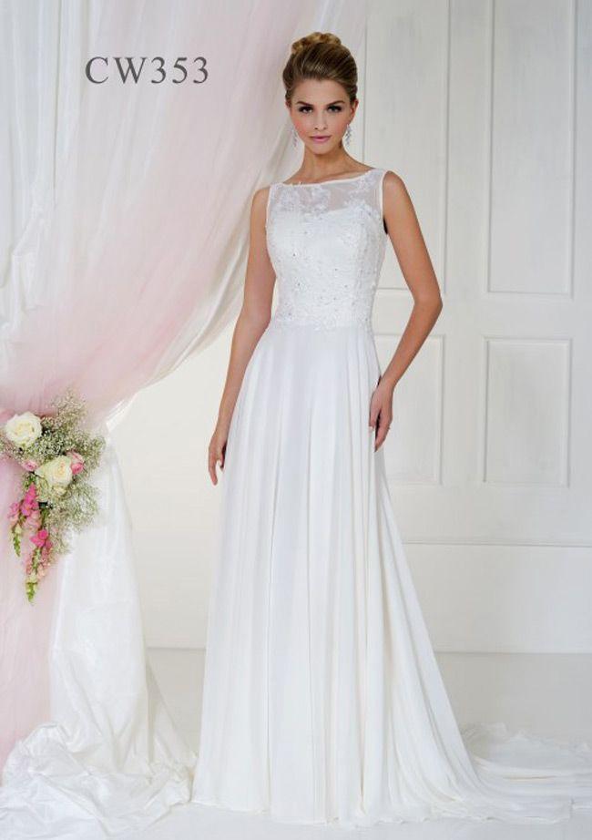 Bellice Column Style Wedding Dress