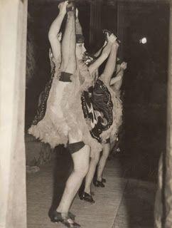 Dancing Girls Cancan No Panties