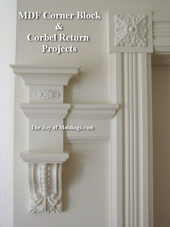 corner block moulding - Google Search & corner block for window and door trim | For the Home | Pinterest ... Pezcame.Com