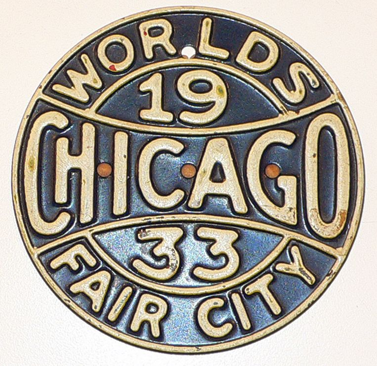 Chicago World's Fair 1933 Memorabilia