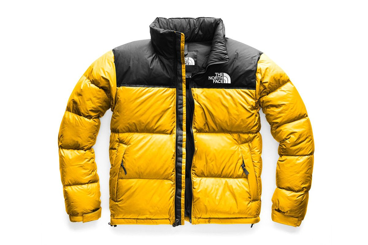 The North Face Nuptse Jackets blue black red yellow orange grey gold  release info 5e98ddff4