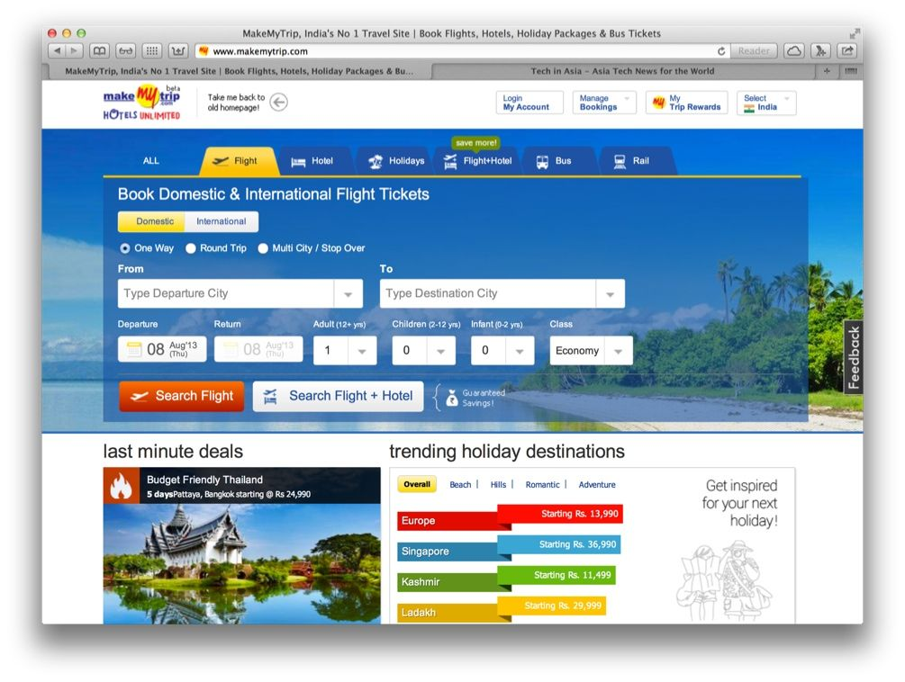 Build your own Hotels & Travel Tickets Booking Website that ...