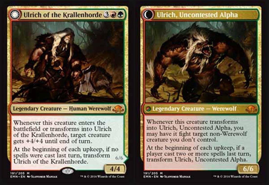 Shadows Over Innistrad ~ GEIER REACH BANDIT //ALPHA rare Magic the Gathering card