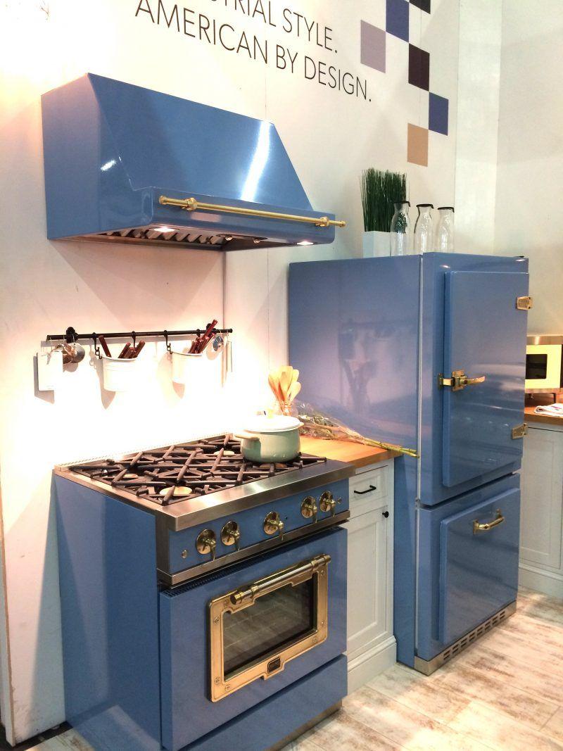 Schön Der Bosch Retro Kühlschrank Gibt Ihrer Küche Einen Charmanten Blick