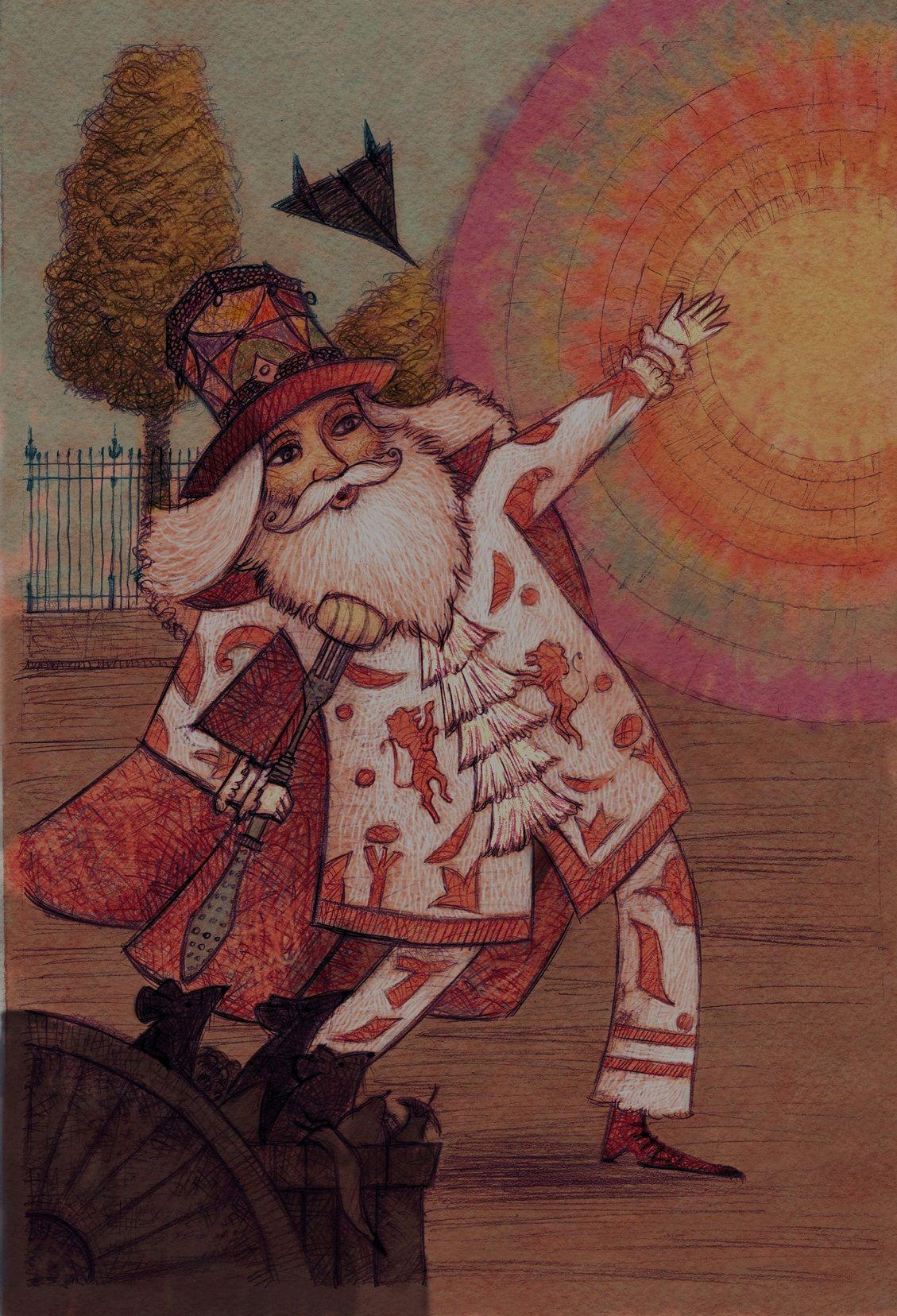 """""""Mistica Maeva e il balcone dei segreti"""" di Laura Walter, illustrazioni di Mauro Evangelista e Marco Lorenzetti, Rizzoli 2015. Originale IV di Copertina."""