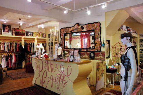 My favorite lingerie store in NYC, La Petite Coquette ...
