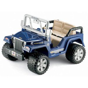 Amazon Com Power Wheels Jeep Wrangler Rubicon Toys Games 270