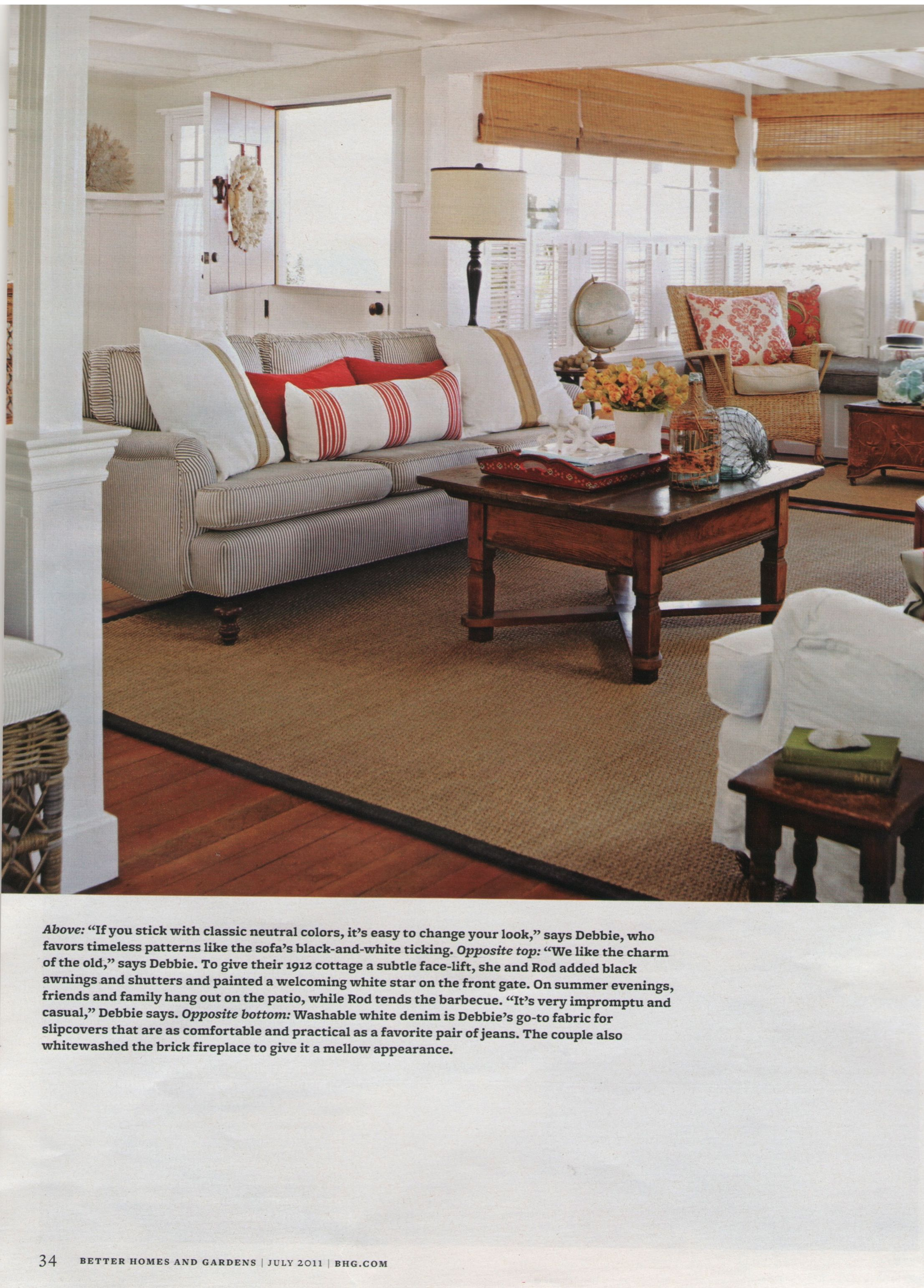 Seagrass rug for a client of ours in Newport Beach was featured in ...