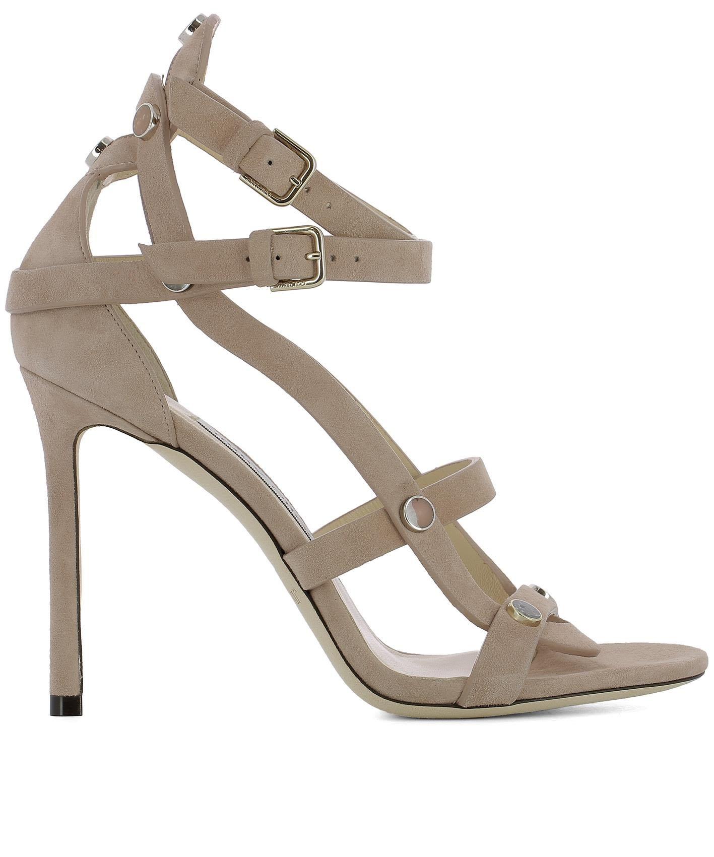 1ff11d0955d45 JIMMY CHOO | Jimmy Choo Pink Suede Motoko 100 Sandals #Shoes #High-heeled  shoes #JIMMY CHOO