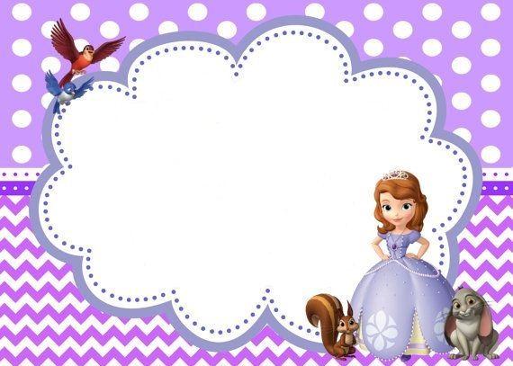 The Curse Of Princess Ivy Invitaciones Princesa Sofia