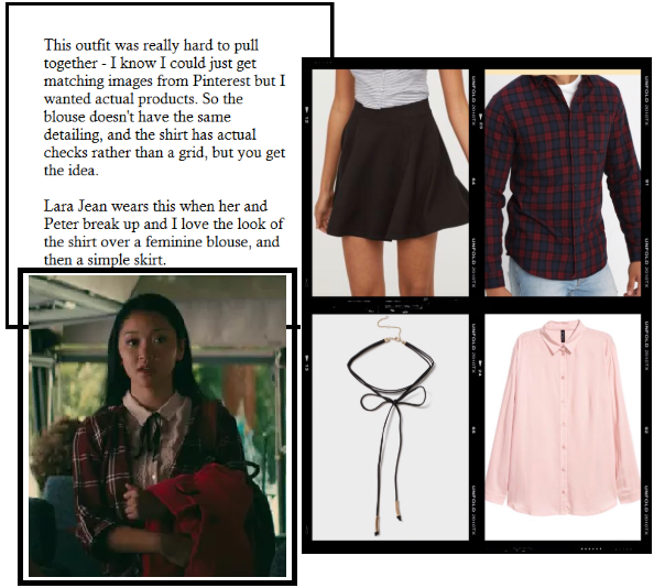Get The Look Of To All The Boys I Ve Loved Before Lara Jean S Outfits Pencil Skirt Outfits Casual Lara Jean Skirt Outfits