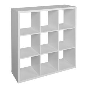 Form Miit White 9 Cube Shelving Unit