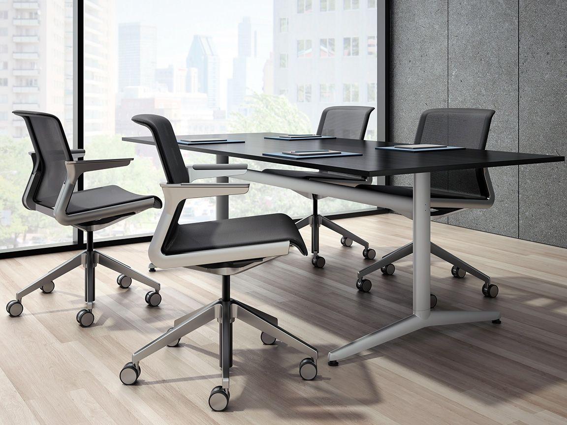 Super Allsteel Clarity Chair Designed In Partnership With Bmw Machost Co Dining Chair Design Ideas Machostcouk