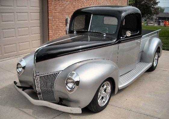 1940 Ford Pickup Street Rod Ford Trucks Classic Cars Trucks 1940 Ford