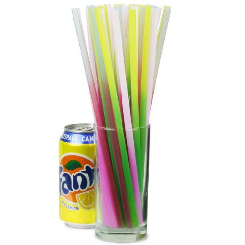 Colour Changing Drinking Straws 10inch - Pack of 25 | Straight Straws, Novelty Straws: Amazon.co.uk: Kitchen & Home