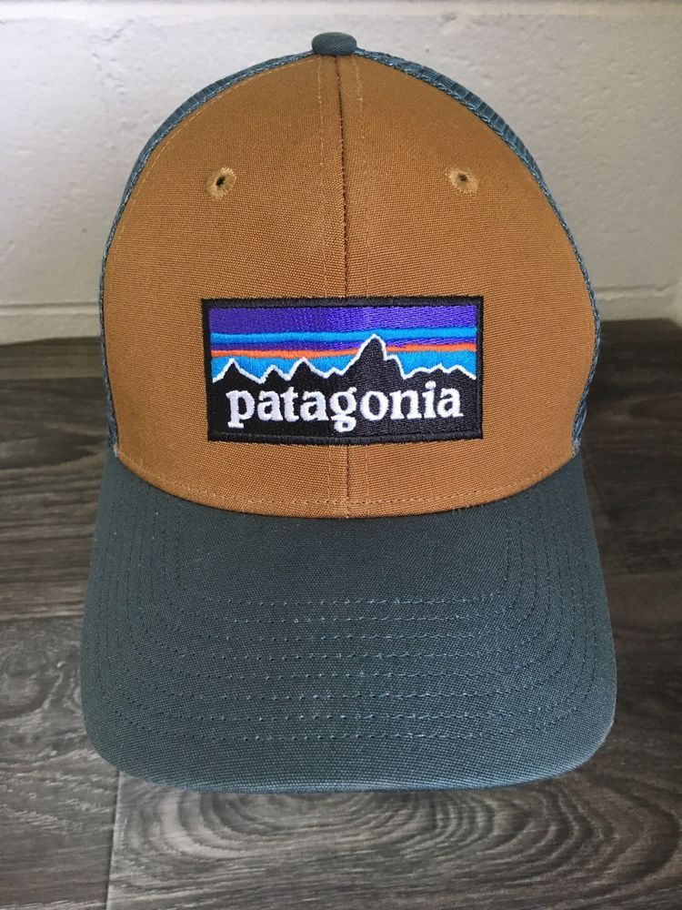 c0e038db146 Patagonia Snapback Hat P6 Trucker Mesh Logo 2 Tone Snapback  Patagonia   Trucker