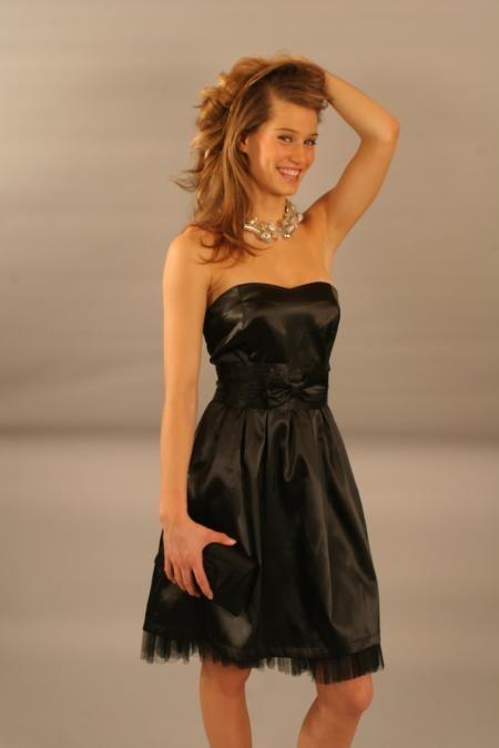 party dress zwart