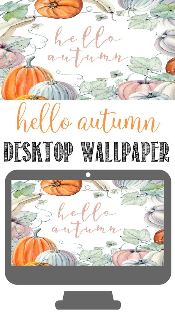 Watercolor Pumpkins Fall Wallpapers For Desktop Fall Wallpaper Desktop Wallpaper Fall Watercolor Pumpkins