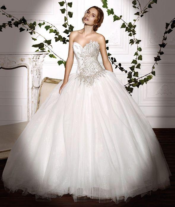 Platinum Wedding Gown: Demetrios Platinum Style DP320 By Demetrios