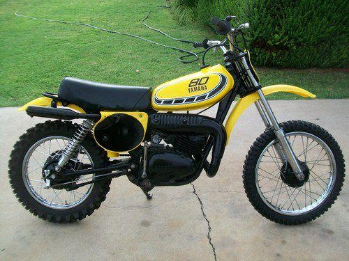 1976 yamaha yz80c vintage dirt pinterest dirt biking motocross and mini bike. Black Bedroom Furniture Sets. Home Design Ideas